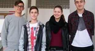 Najbolji na školskom natjecanju iz njemačkog jezika