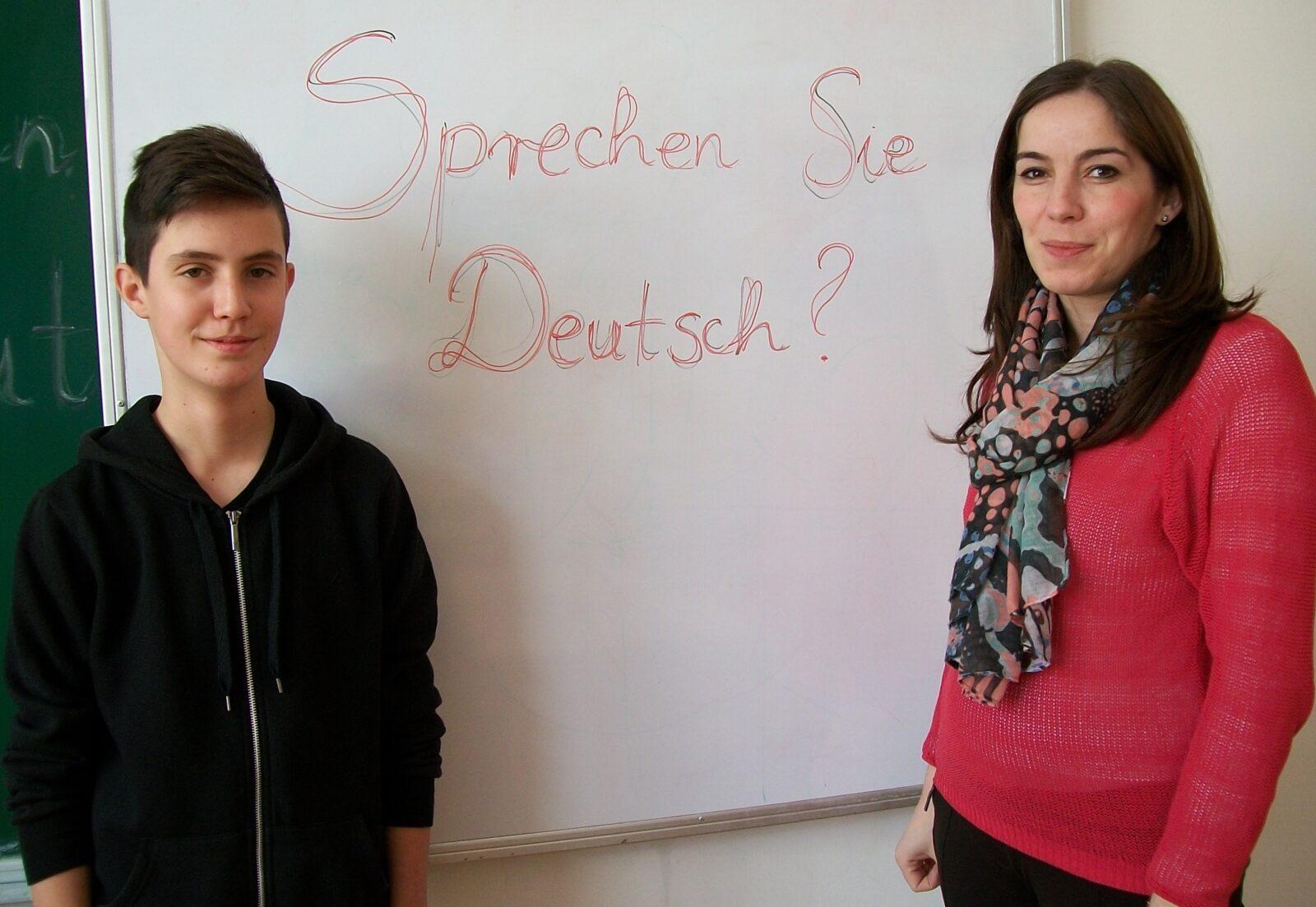 Treće mjesto na županijskom natjecanju iz njemačkog jezika