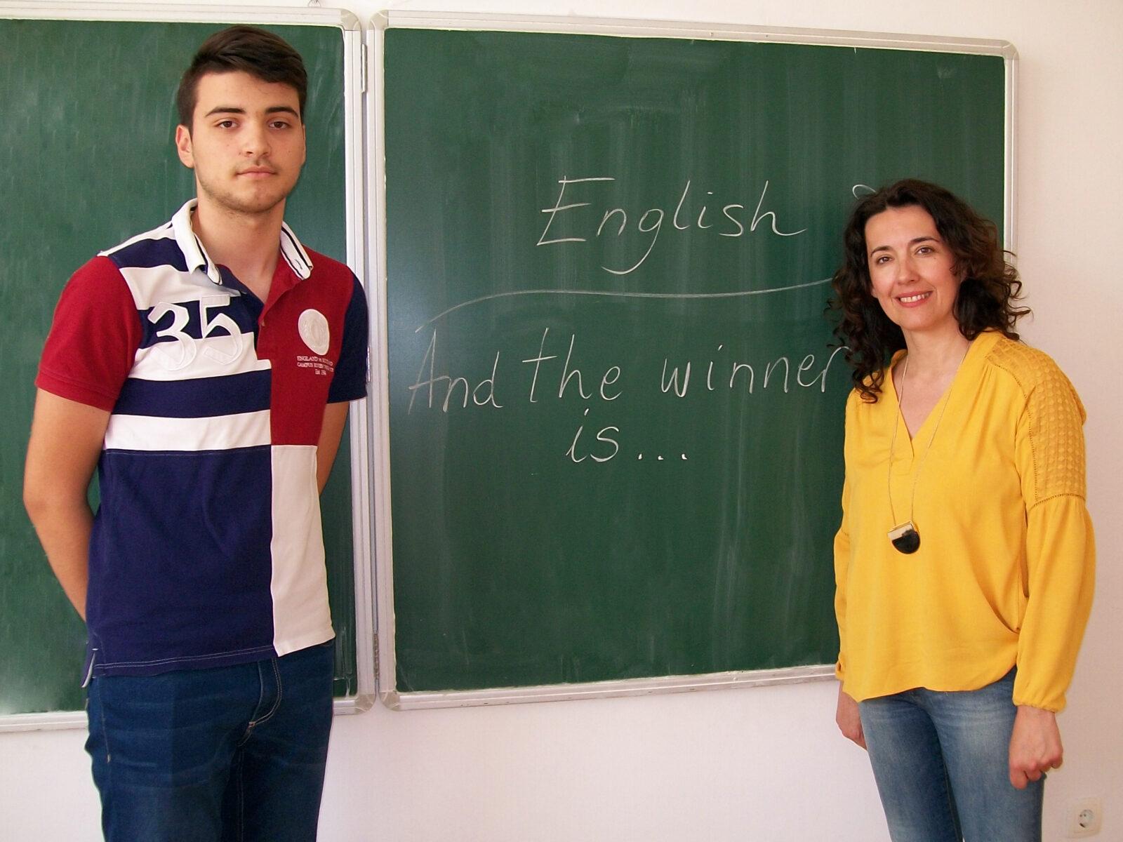 Prvo mjesto na županijskom natjecanju iz engleskog jezika