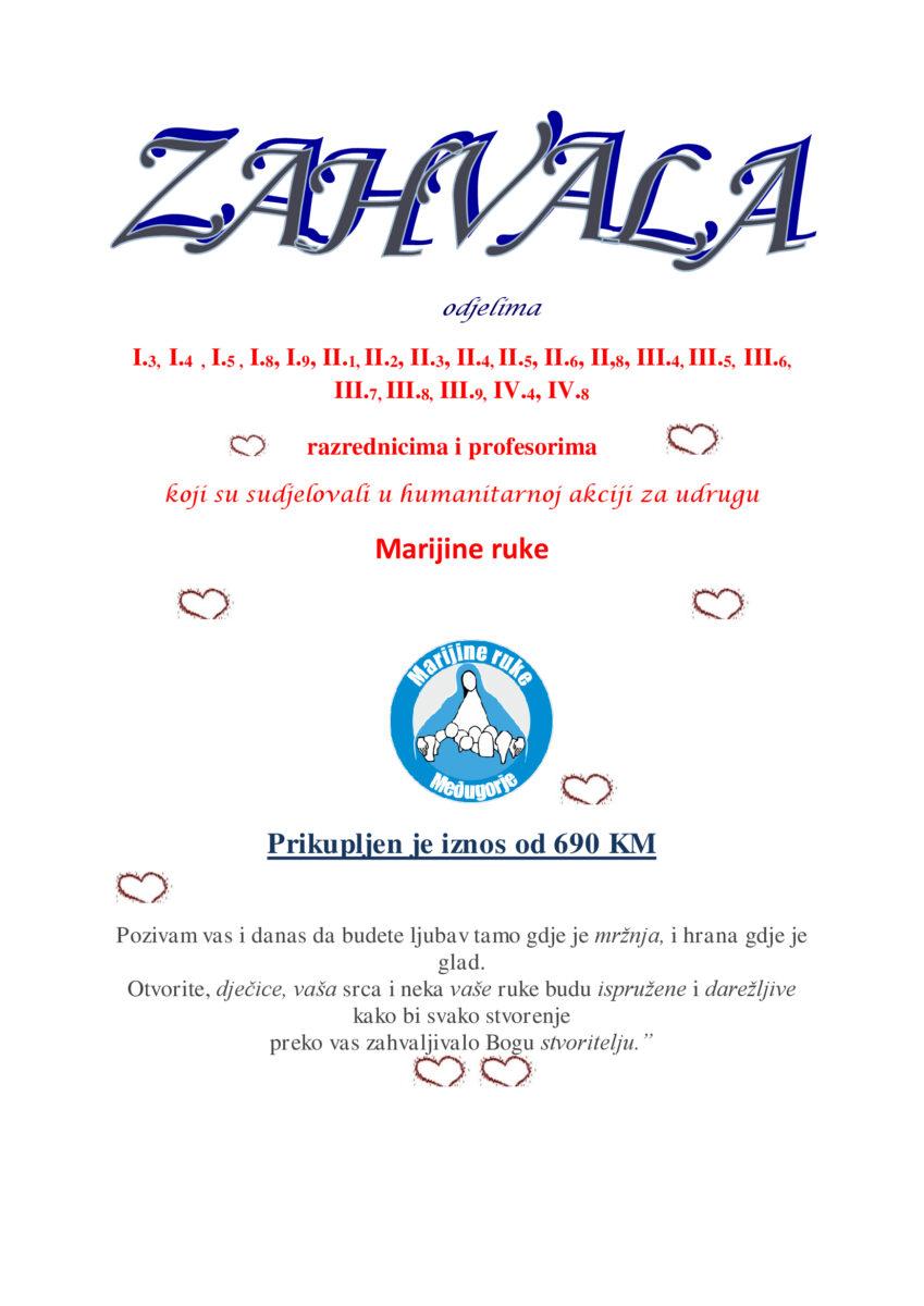 Vijeće učenika Srednje škole dr.fra Slavka Barbarića ponovno djeluje!